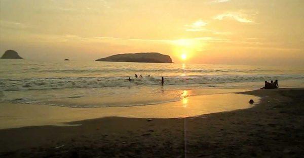 Playas de Lurín al sur de Lima