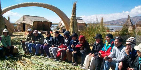 Turistas Puno
