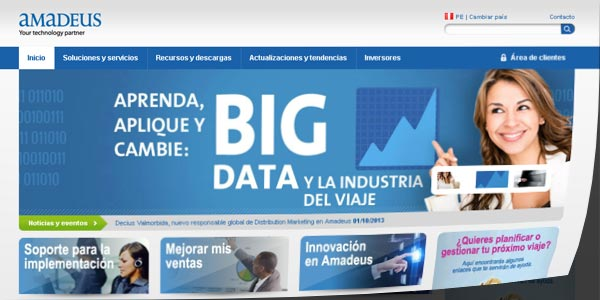 Amadeus web