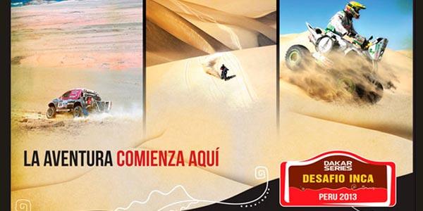 Dakar series Pisco - Desafío Inca