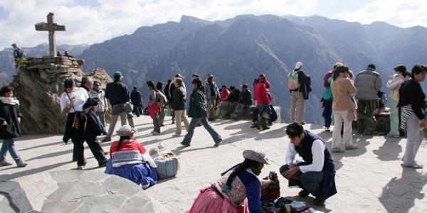 Turistas Valle del Colca