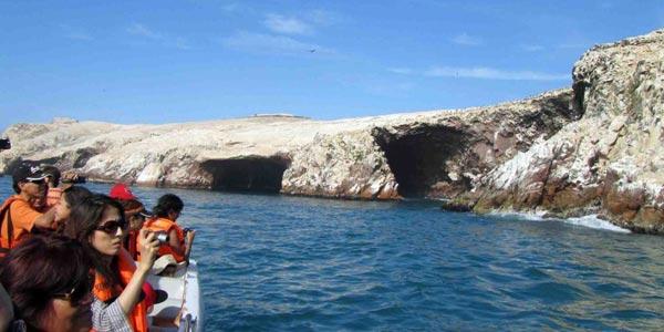 Turistas Paracas