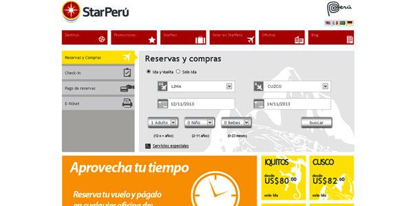 Star Peru web