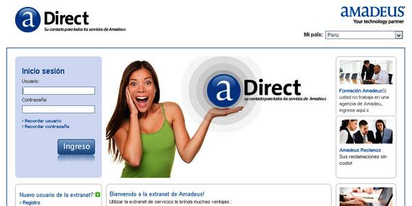 Amadeus Extranet Direct
