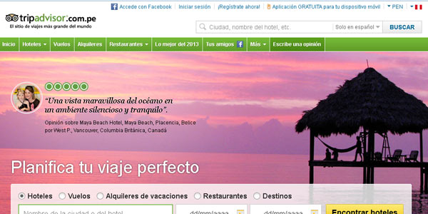 Tripadvisor Peru