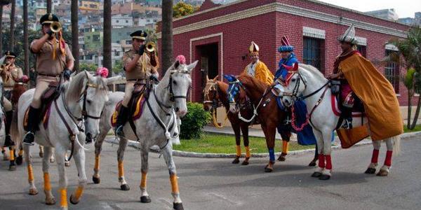 Fiesta de reyes en Lima