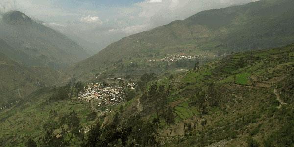 Huanza - Valle de Santa Eulalia