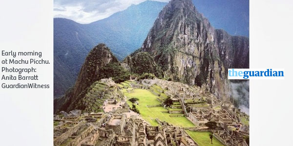 Machu Picchu - The Guardian