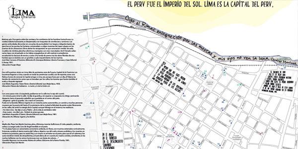 Mapa Literario de Lima