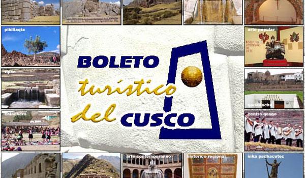 Boleto turistico del Cusco