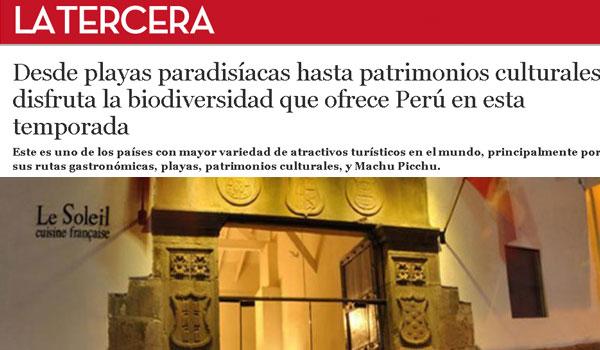 La Tercera de Chile y Perú
