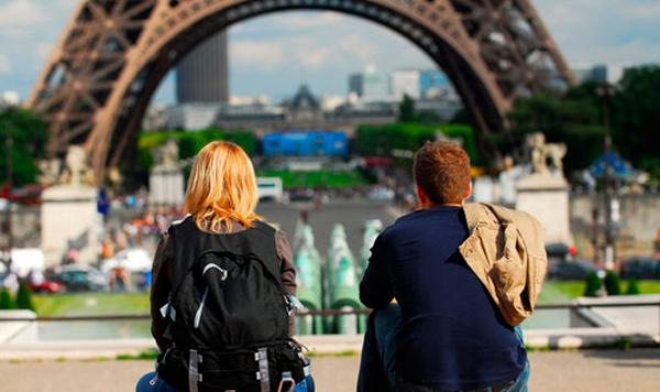 Turistas por Europa
