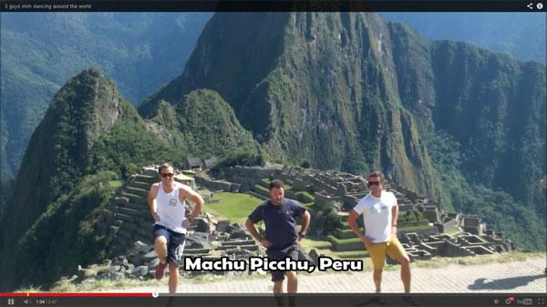 Turistas Irlandeses en Perú
