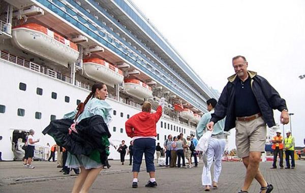 Turistas cruceros Perú