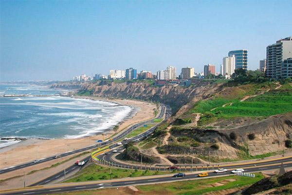 Circuito de Playas de la Costa Verde de Lima