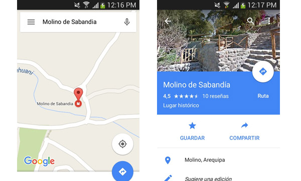 google-now-turismo