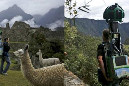 Descubre como capturó Google Street View la ciudadela de Machu Picchu