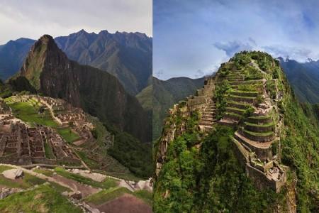 Así se ve desde un dron la ciudad inca de Machu Picchu