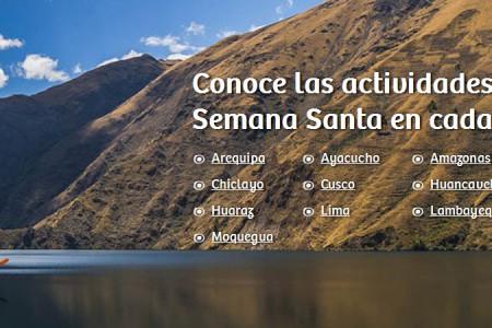 Viaja en Semana Santa por todo el Perú con Y tu que planes