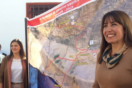 MINCETUR activó corredor turístico preferencial Arequipa-Colca