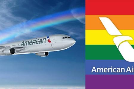 American Airlines celebra mes del Orgullo LGBT