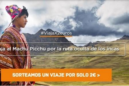Con sorteo de viaje a Machu Picchu promueven el apoyo al turismo comunitario en España
