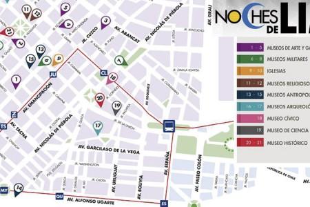 Noches de Lima: museos, galerías e iglesias para visitar