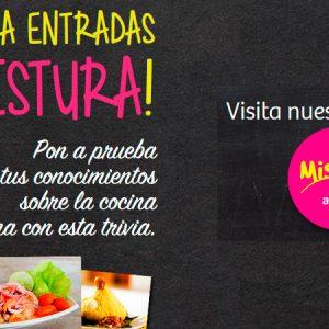 Gana entradas a Mistura y disfruta de nuestra cocina peruana