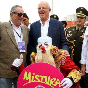 Mistura: Jefe de Estado saludó participación de comedores populares en Feria Gastronómica 2016