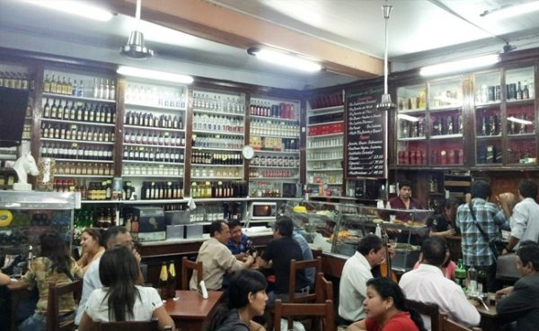 Ruta Gastronómica por el centro histórico de Lima - Queirolo Bar