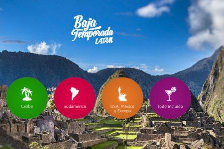 Baja Temporada LATAM: Suben tus posibilidades de viajar