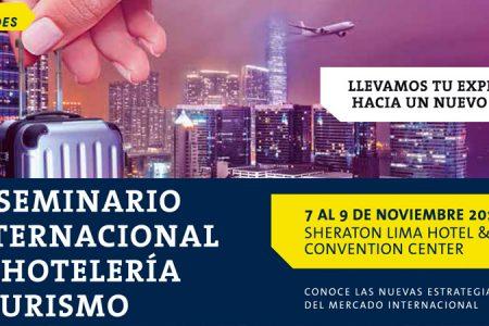 USMP organiza el XI Seminario Internacional de Hotelería y Turismo