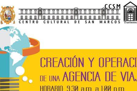 Curso UNMSM: Creación y operación de una Agencia de Viajes