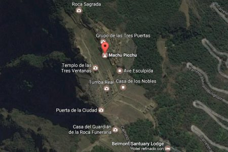 Descubre Machu Picchu a través de Google Maps