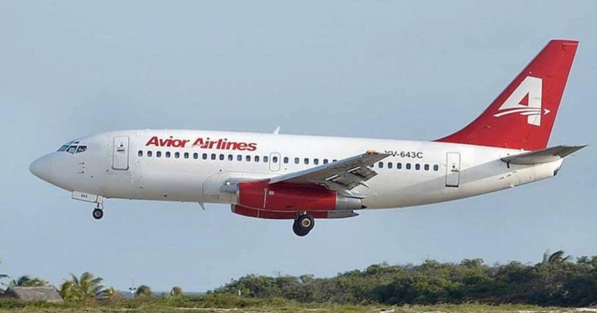 Avior Airlines, Valencia - Lima