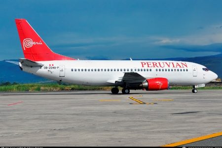 Peruvian inició vuelos de Lima a Jauja y se agotan rápidamente sus tarifas promocionales