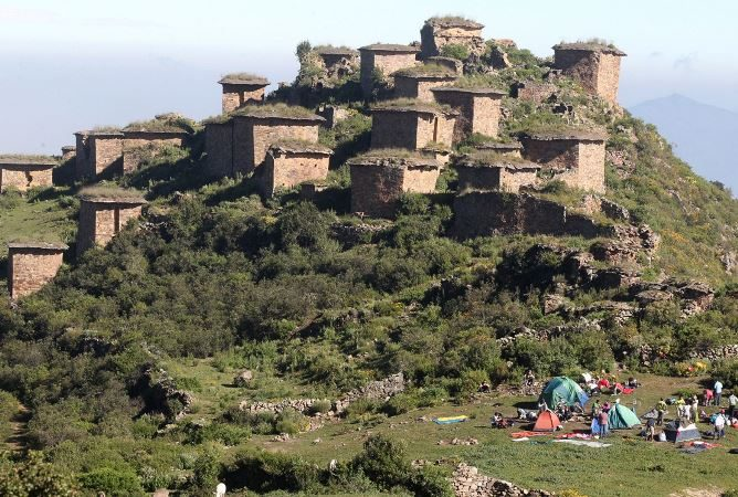 Suspenden visitas a sitio arqueológico de Rupac, en sierra de Huaral, debido a lluvias