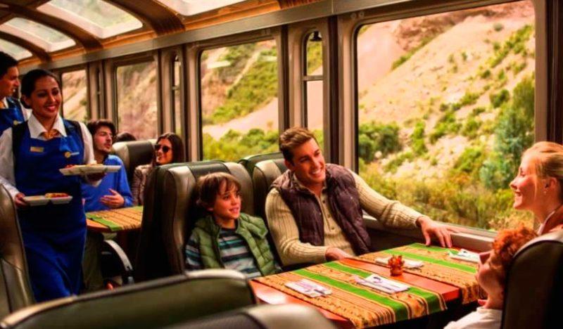 Viaja a Machu Picchu en tren con Perurail