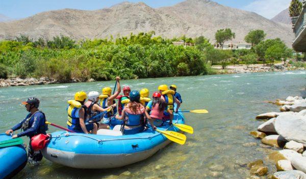 Tour de aventura en Lunahuaná