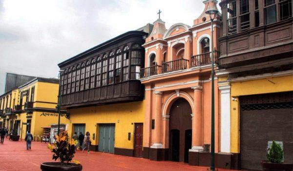 Iglesia Nuestra Señora del Rosario, Rímac