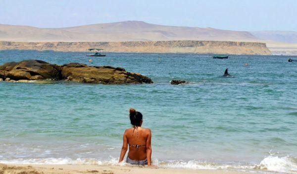 Viajar y Acampar en Playa La Mina
