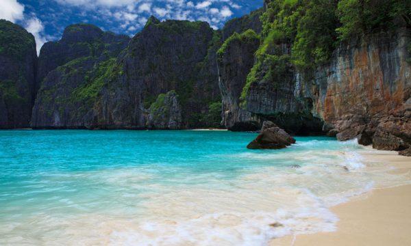 Maya Bay,, playa cerrada para los turistas