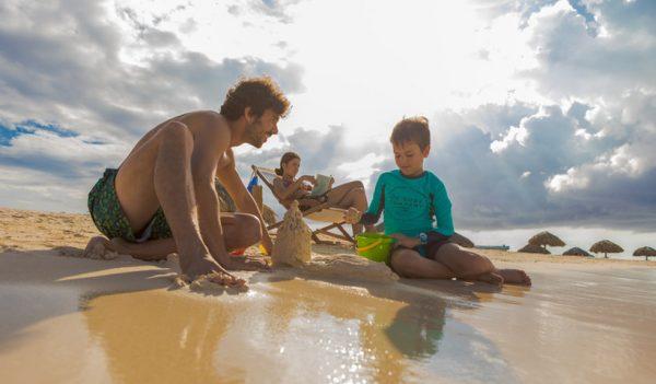 Turismo en la isla caribeña de Aruba