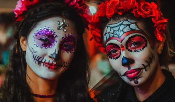 Las Catrinas en el día de muertos en México