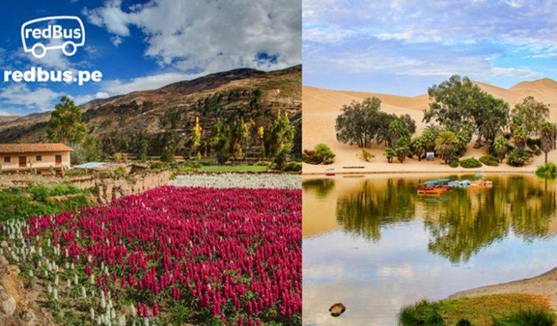 Siete destinos peruanos a los que se puede viajar en diciembre sin avión