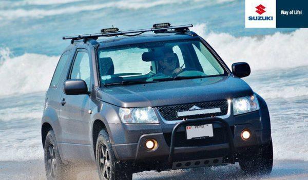 Viajar por el Perú en una camioneta Suzuki
