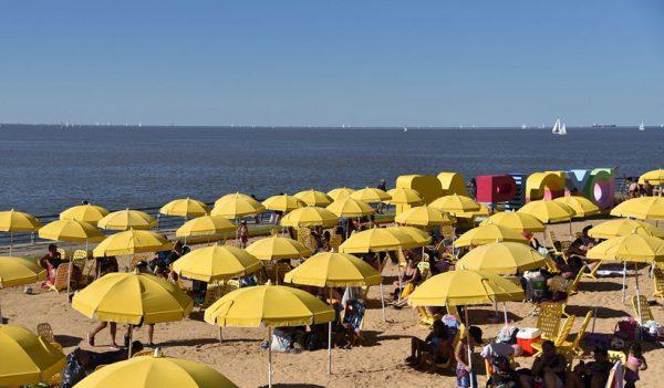 Playa en Buenos Aires