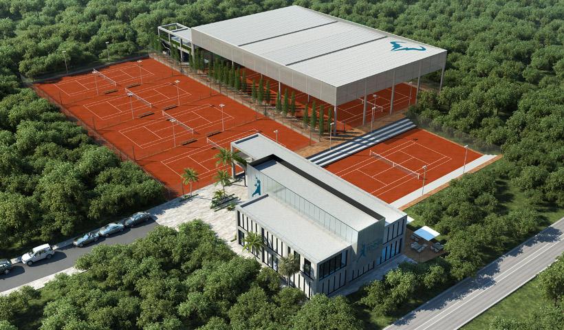 "Toni Nadal llega al ""Rafa Nadal Tennis Centre"" de Costa Mujeres"