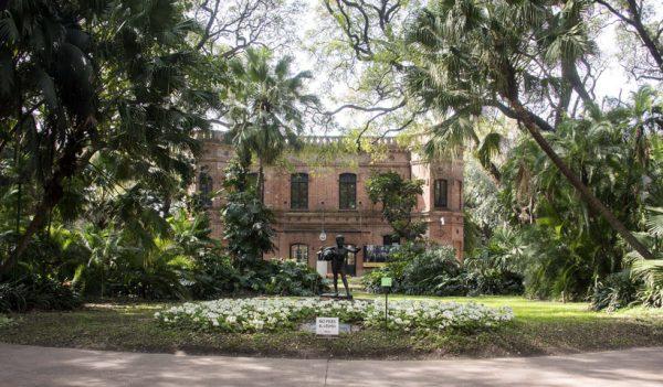 El sendero de los Reyes del Jardín Botánico
