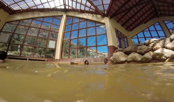 Baños termales para turistas en Cusco